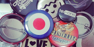 badges personnalisables